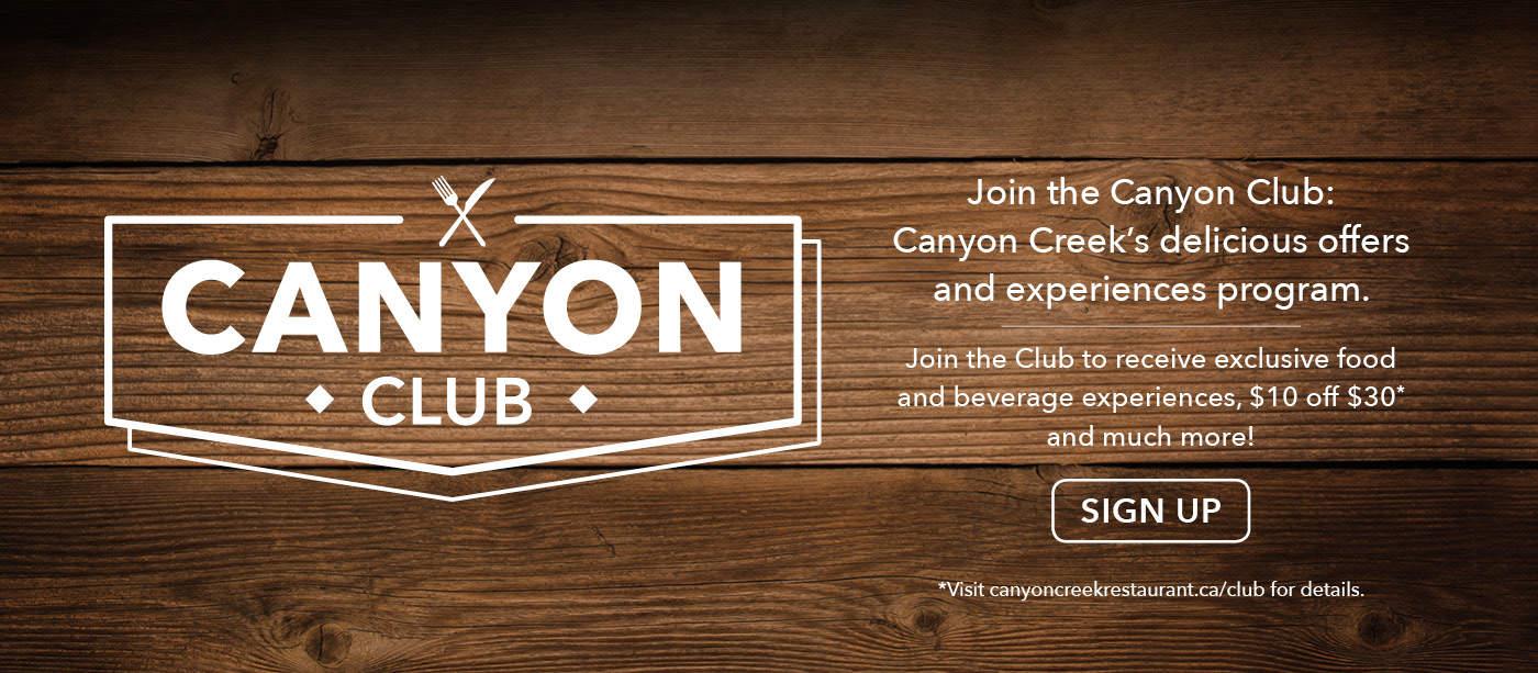 Canyon Creek - Canyon Club
